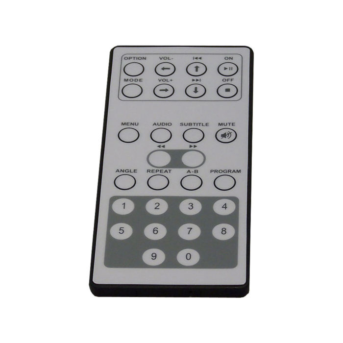Portable DVD player remote controls