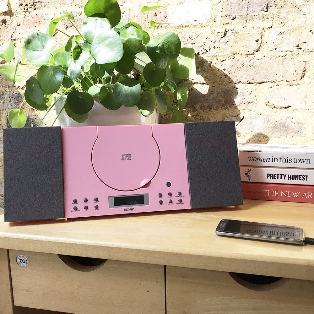 mc-5010 pink cd player
