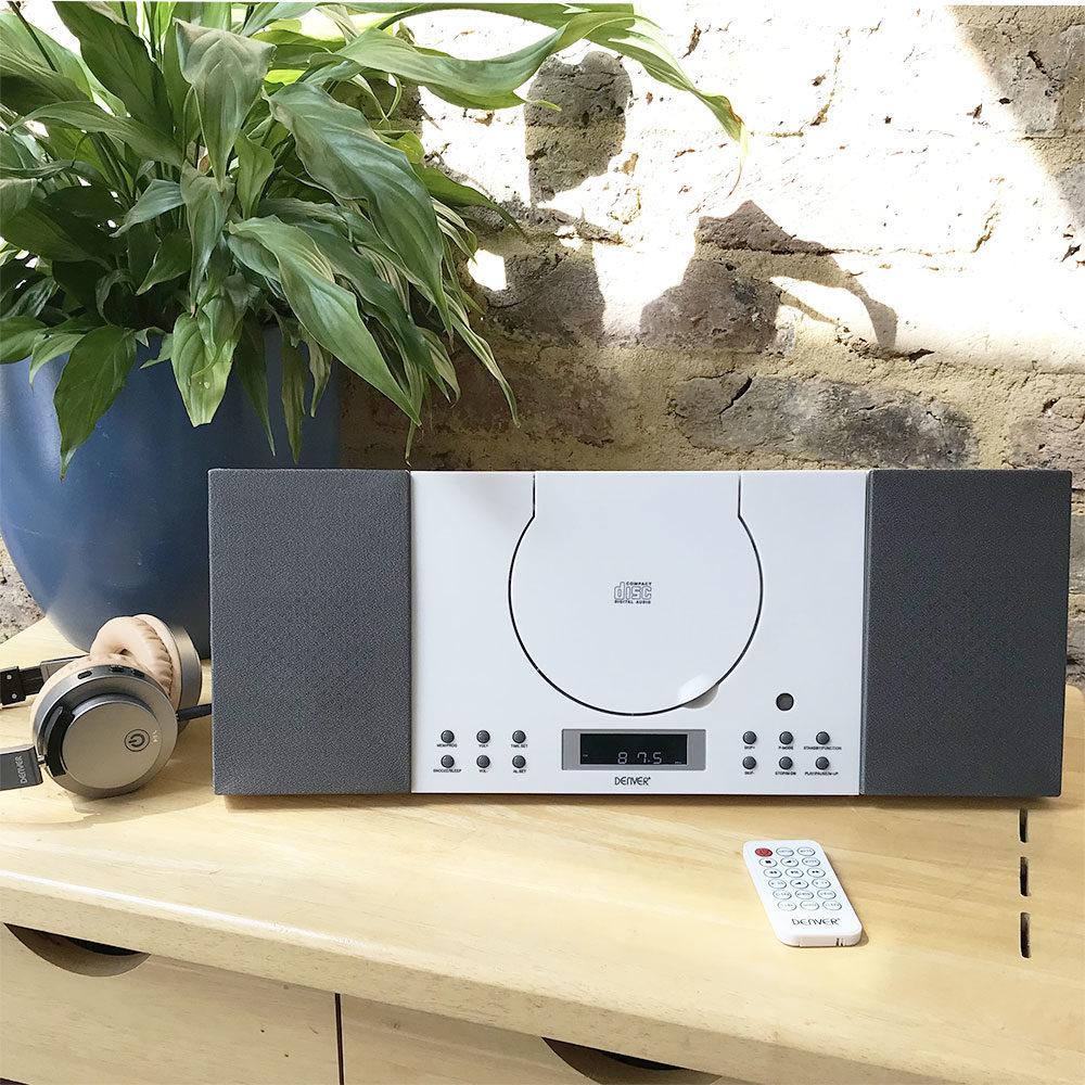 denver mc-5010 cd player white