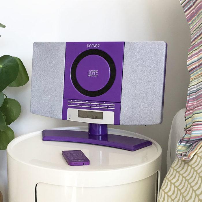 mc-5220 purple cd player