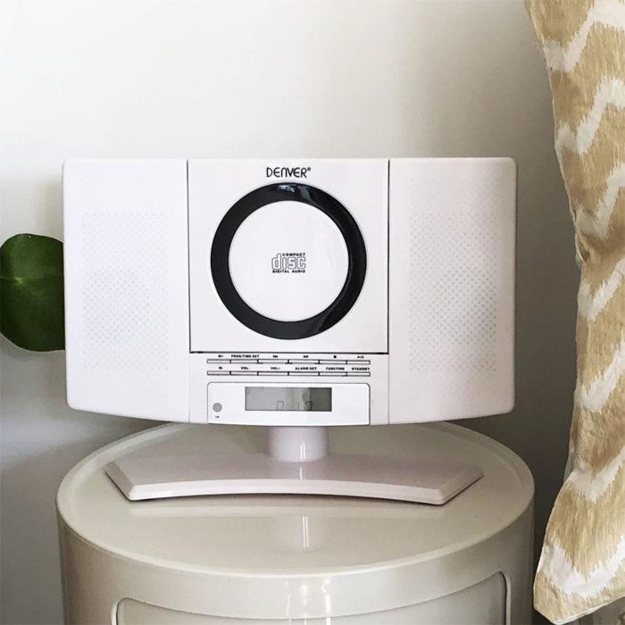 denver mc-5220 white cd player