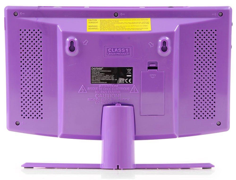 denver mc-5220 purple cd player