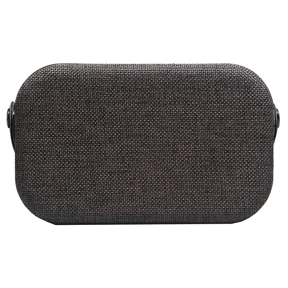 bts-63 charcoal black fabric bluetooth speaker