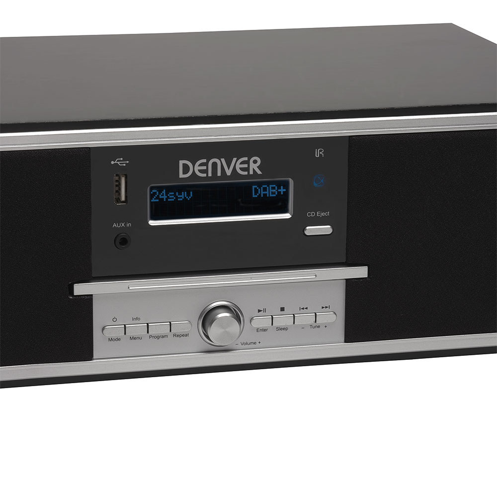 Denver Electronics Mda 250 All In One Home Audio Micro