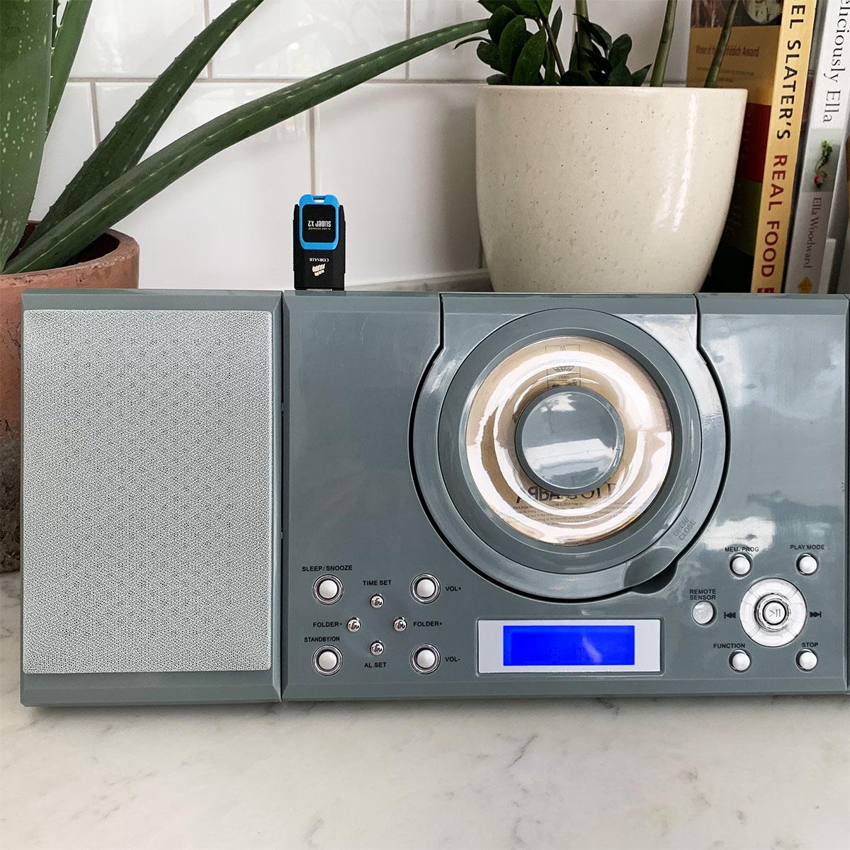 Grouptronics Gtmc 101 Cd Player Stereo Micro Hifi Usb
