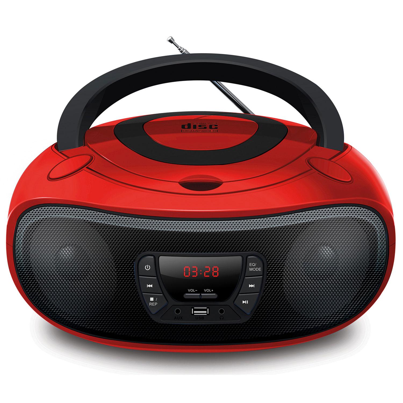 Grouptronics Gtcd 501 Stereo Boombox Portable Cd Player