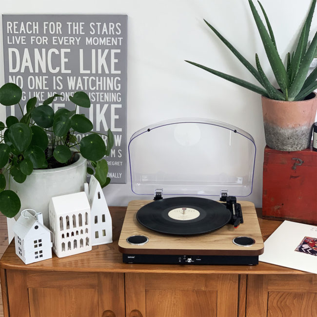 denver vpl-200 wood record player