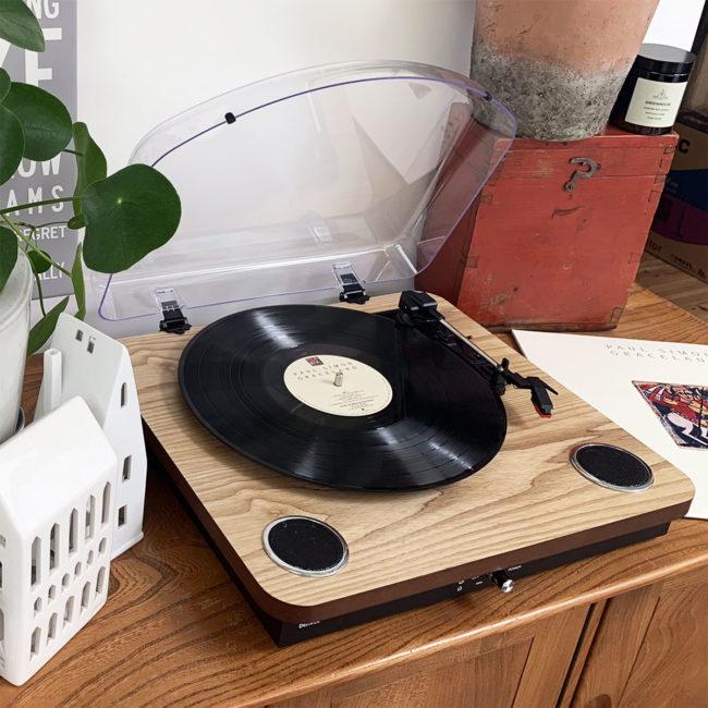 vpl-200 wood retro turntable