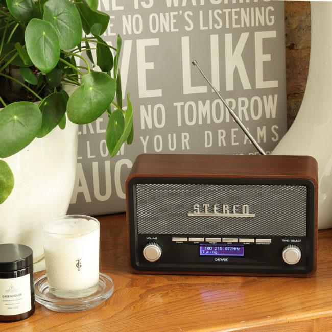 New Stylish Radio Alarm Clocks For, Retro Radio Alarm Clock