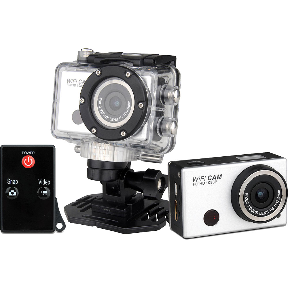 Denver Ac 5000w Full Hd Action Cam With Wifi Phone App Remote Camera Gopro Sportcam Non Kamera 4k Home